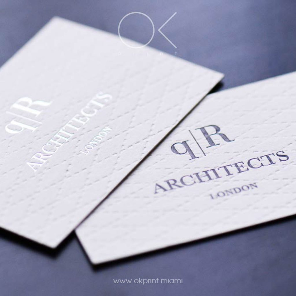 Luxury business cards miami ok print miami for Business card miami